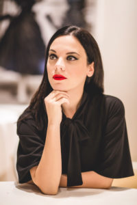 Elena Schiavon Fashion Blogger ospite di Netlife s.r.l. al seminario Twitter