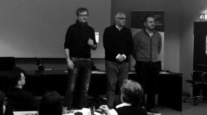 L'Espresso Editors Lab saluti finali - Andrea Iannuzzi, Maurizio Galluzzo, Marco Laudanio