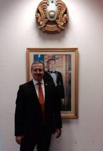 Pierluigi Aluisio Console Onorario del Kazakhstan a Venezia
