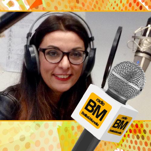Francesca Anzalone ai microfoni di Radio Bella&Monella