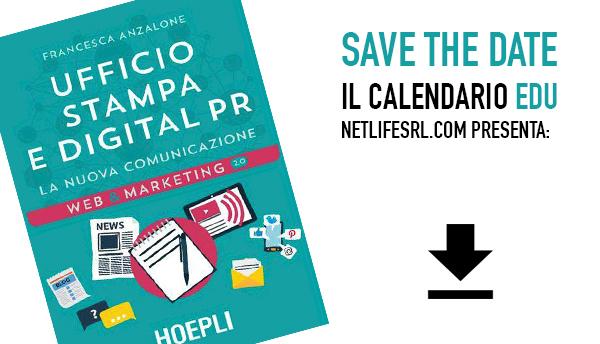 Calendario corsi di formazione sui social - Netlife s.r.l.