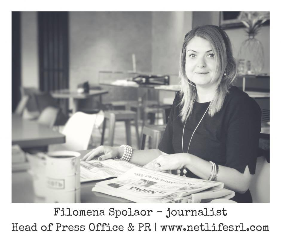 Filomena Spolaor, giornalista _ Press Office e PR Netlife s.r.l.