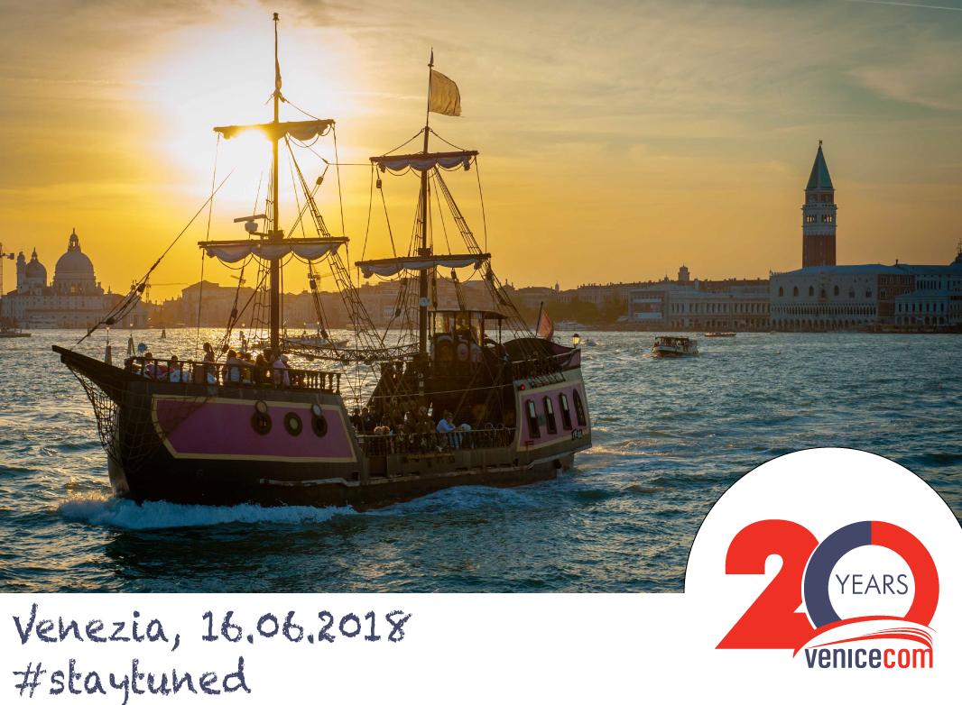 Venicecom, 20 anniversario aziendale