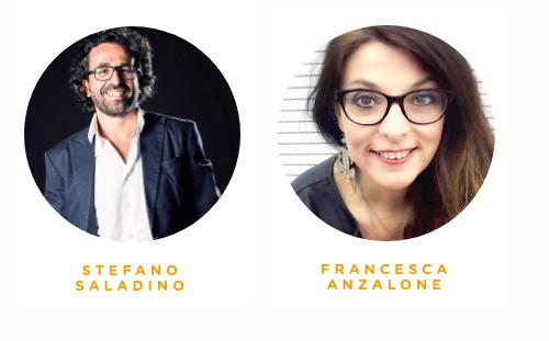 Stefano Saladino Mushub e Francesca Anzalone Netlife per Contentware Summit