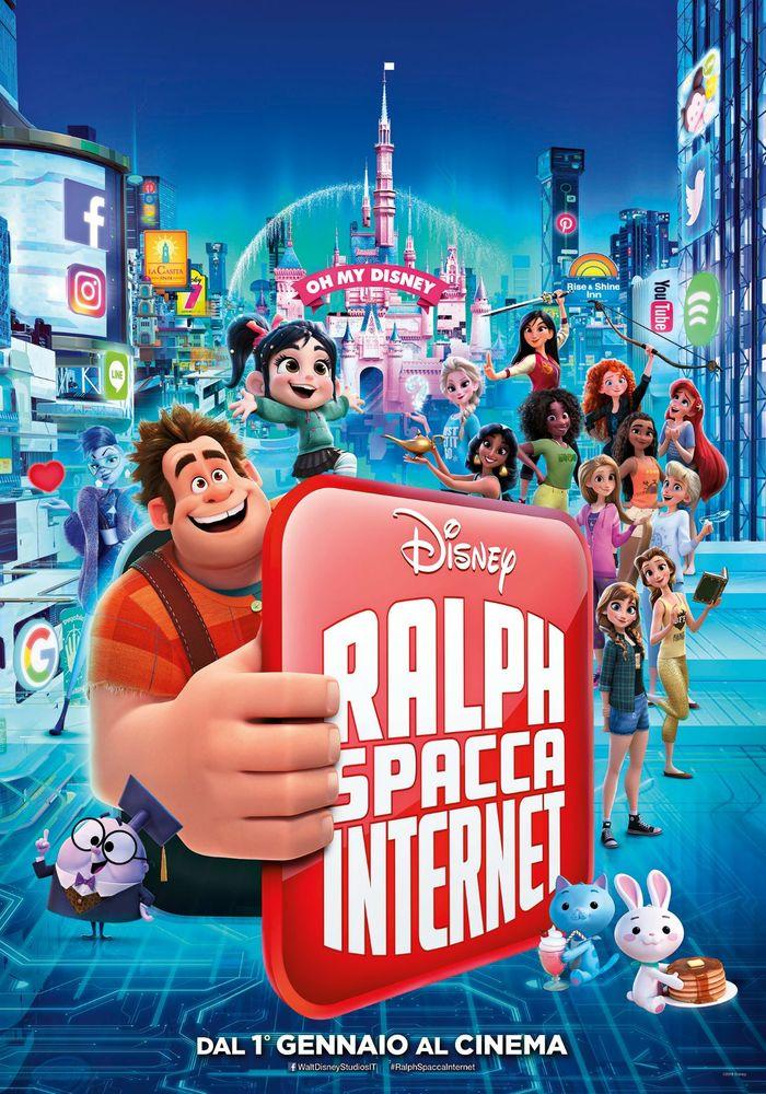 Ralph spacca Internet, Disney dal 1 gennaio al cinema