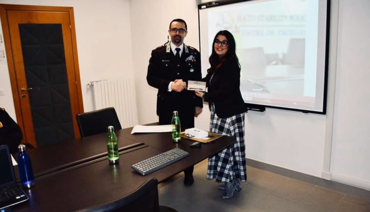 Francesca Anzalone al NATO Stability Policing Centre of Excellence