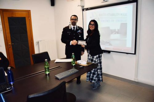 Francesca Anzalone al NATO Stability Policing Centre of Excellence