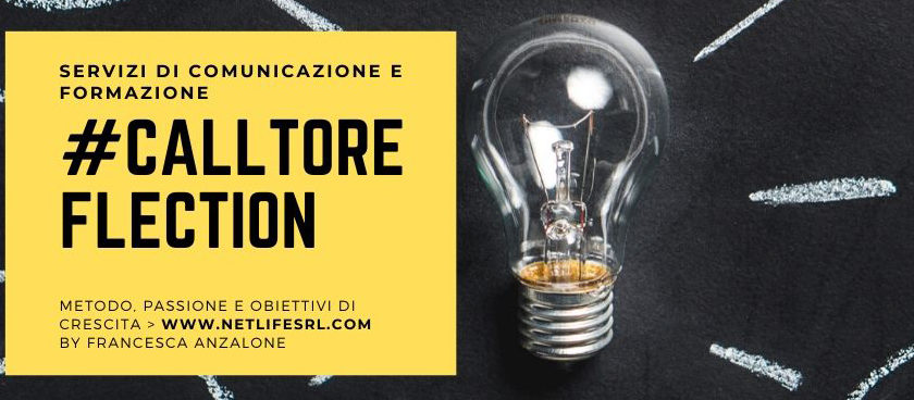 call to reflection_Netlife ti invita a riflettere sul web