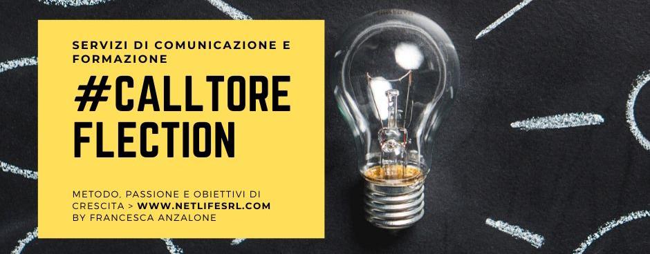call to reflection_Netlife ti invita a riflettere sul web