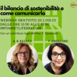 Il bilancio di sostenibilità e come comunicarlo Anzalone e Balzan Netlifesrl
